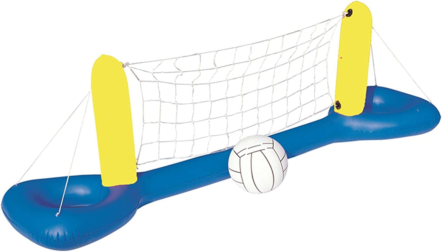 NEW before selling Nanyaciv Inflatable Float Set Volleyball Excellent Ball Inflat Net 1 with