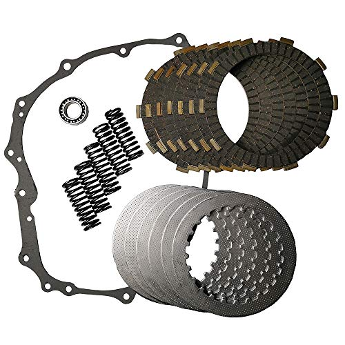 JINFANNIBI Complete Clutch Kit Heavy Duty Springs and Gasket Compatible for Honda Sportrax 400 TRX400EX TRX400X TRX400 1999-2014
