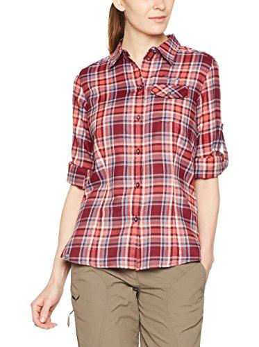 Salewa Fanes Flannel Pl W L/S SRT - Chemise à Manches Longues pour Femme, Multicolore, Taille 40/34
