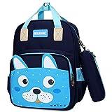 Mochila para niños,Mochila de Conejo para Niños, Mochila Escolar para Niños de 6 a 10 Años,Niñas,Azul