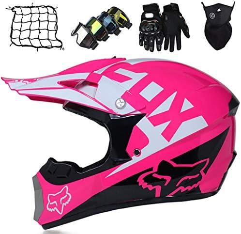 Full Face MTB Helmet MJH 01 Motocross Helmet for Kids Adults with Fox Design Motorbikes Helmet product image