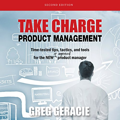 Take Charge Product Management audiobook cover art