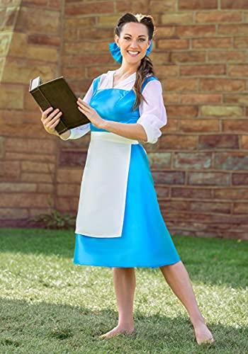 Adult Belle Blue Costume Dress Large