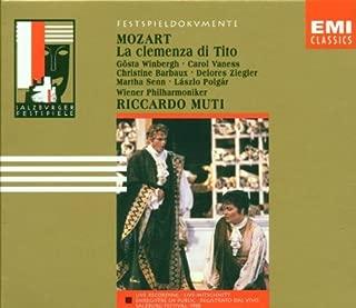 Mozart: La Clemenza di Tito - Complete Opera Recording Salzburg Festival 1988