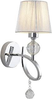 SMLZV UK Crystal Wall Light Modern Minimalist Bedroom Bedside Lamp Tv Background Wall Lamp Hallway Lights