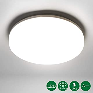 Öuesen Lámpara de techo LED 18W equivalente a 100W Plafón LED de 1650 lúmenes Color Blanco