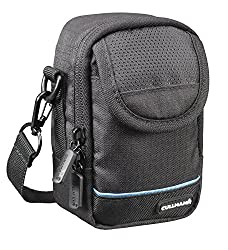 Cullmann - 99040 - ULTRALIGHT pro Compact 400, Tasche für Kompaktkameras,schwarz - Innenmaße 70x120x50mm, 70 x 120 x 50