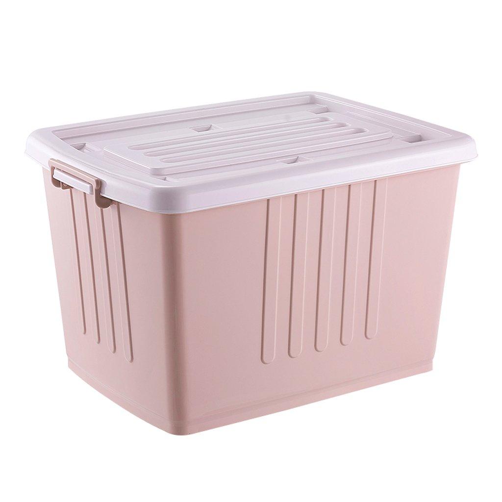 Caja de almacenamiento YLLXX Plástico Grueso Gran Tamaño Ropa De Juguete (45 * 32 * 25 Cm): Amazon.es: Hogar