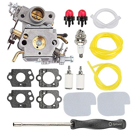 Hayskill C1M-W26C 545070601 Carburetor w 530057925 Air Filter Tune-up Kit for Poulan Pro PP3416 PP3516 PP3816 PP4018 PP4218 PPB3416 SM4218AV PPB4018 PPB4218 S1970 Gas Chainsaw Carb