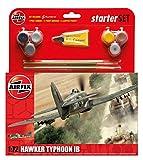 Airfix Quick Build Hawker Typhoon Ib Kit Modelo plástico de avión