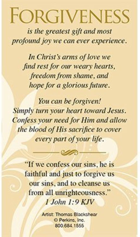 Forgiven By Thomas Blackshear Witness Cards 25 pk