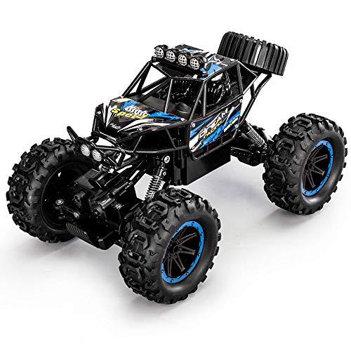 LQZCXMF Super grande de alta velocidad, tracción en las cuatro ruedas, escalada, coche de control remoto, juguete de control remoto eléctrico para niños, vehículo todoterreno de bigfoot, capacidad tod