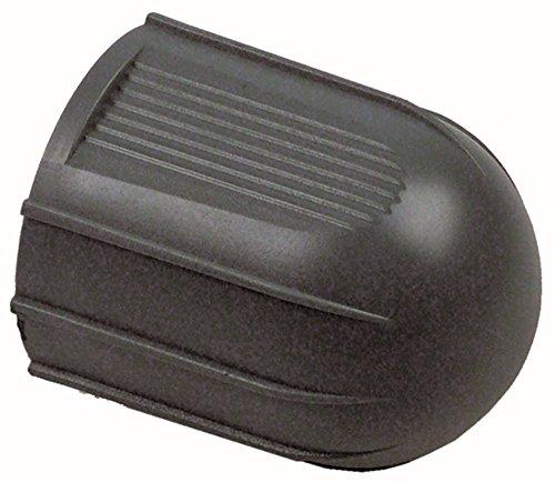 Pavoni draaigreep voor espressomachine voor kraan ø 46mm zwart