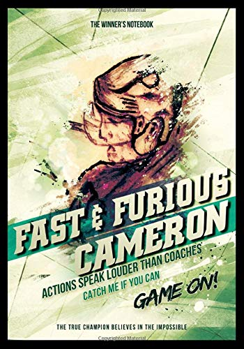 Fast & Furious Cameron - Actions Speak Louder Than Coaches: The Winner's Notebook (Inspirational Hockey, Band 1)