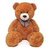 MaoGoLan Giant Teddy Bear Big Stuffed Animals Plush for Girlfriend,47 inch (Brown)