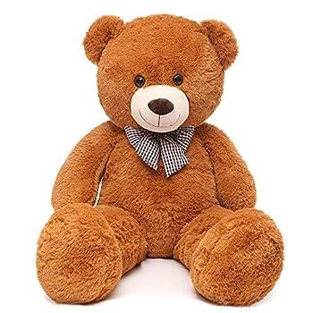 MaoGoLan Giant Teddy Bear Big Stuffed Animals Plush for Girlfriend,47 inch  Brown
