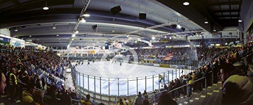 Eisstadion Straubing – Poster 240 x100 cm – hochwertiger FineArtPrint