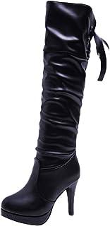 Amazon.es: Sobre la rodilla - Botas / Zapatos para mujer ...