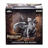 WizKids Pathfinder Battles: Cortes Profundos sin Pintar miniaturas: Gargantuan Red Dragon (WZK73144)