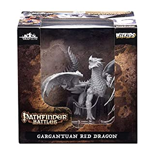WizKids Pathfinder Battles: tagli profondi non verniciati: Drago rosso gargantuan (WZK73144) (B07GL3T973) | Amazon price tracker / tracking, Amazon price history charts, Amazon price watches, Amazon price drop alerts