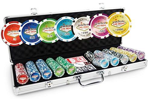 Poker Valigetta, Las Vegas Poker Laser 500 fiches