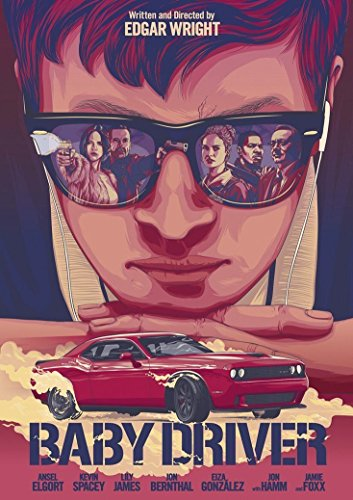 bribase shop Baby Driver Action Crime Movie 2017 Poster 32 inch x 24 inch / 17 inch x 13 inch