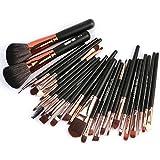 AMUSTER 27Pc Make-up Pinsel Set Powder Foundation Lidschatten Eyeliner Lip Kosmetik Pinsel Make-up...