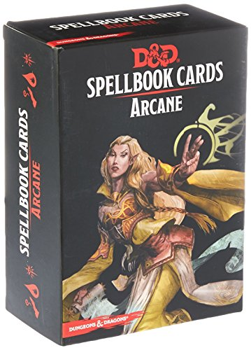 Gale Force Nine GF973915 Brettspiel Dungeons und Dragons: Arcane Spell Deck, Basic Pack