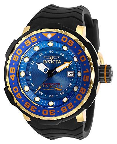 INVICTA Herren Automatik Uhr mit Silikon Armband 28784
