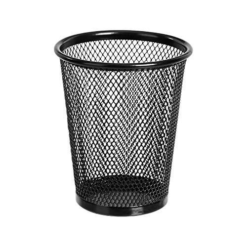 AmazonBasics Mesh Pencil Cup, Black, 3-Pack