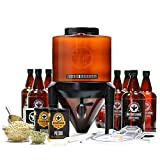 BrewDemon Signature Beer Making Kit by Demon Brewing Company - Conical Fermenter Eliminates Sediment...
