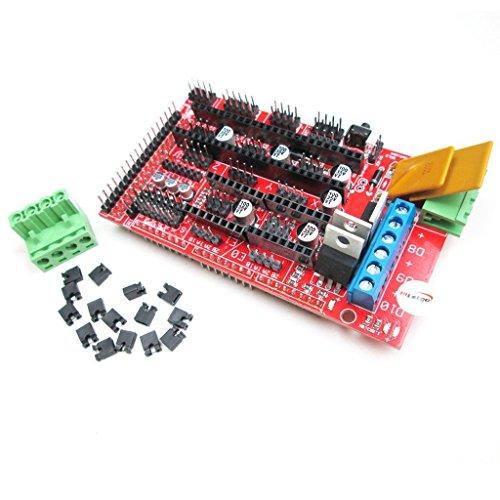 HiLetgo RAMPS 1.4 3D Printer Control Panel 3D Printer Control Board Reprap Control Board for Arduino MEGA RepRap Prusa Mendel Raspberry Pi