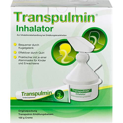 Transpulmin Erkältungsbalsam Creme mit Inhalator, 100 g Creme