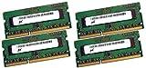 Micron 3rd 64GB Dual Channel Kit 4 x 16 GB 204 pin DDR3-1866 SO-DIMM (1866Mhz, PC3L-14900S, CL13) passend für Apple iMac Retina 27' 5K (Late 2015)