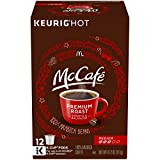 McCafé Premium Medium Roast K-Cup Coffee Pods (72 Pods, 6 Packs of 12)