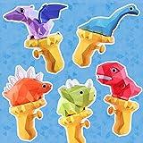 Dinosaurios Pistolas de Agua Juguetes de baño Juguetes Playa Juguete al Aire Libre Regalos para niños