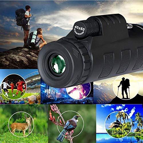 40X60 Telescoop Scope Zoom Mobiele Telefoon Lens voor Smartphone Camera Camping Wandelen Vissen met Kompas Telefoon Clip Statief