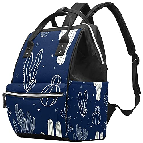 Elegante bolso de pañales, mochila de viaje para ordenador portátil, mochila impermeable para mujeres, hombres, rojo, rosa, amarillo, nota musical, regalo de estrella, Color9, Talla única
