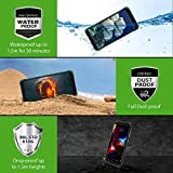 Rugged Smartphone Blackview BV4900 (2021) 4G LTE Dual SIM Waterproof Mobile Phone, Android 10 Shockproof IP68 IP69K Tough Phone with 5.7inch Screen, 5580mAh Battery,3GB+32GB, Triple Camera, NFC-Green