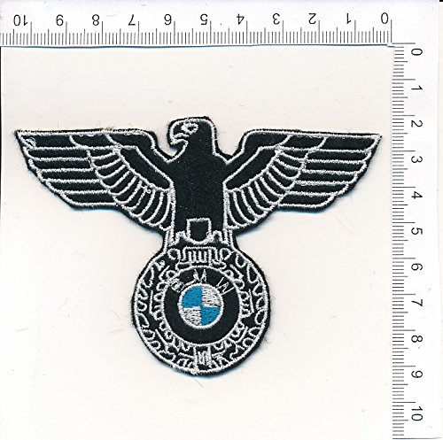 Applikation Aufbügler Patches Stick Emblem Aufnäher Abzeichen AQUILA BM.W
