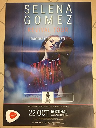 Selena Gomez – Revival Tour 2016 – 60 x 80 cm – Display/Poster