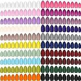 Best Press On Nails - 480 Pieces 20 Colors Short Matte Press on Review