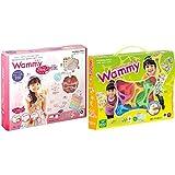 ワミー キラキラキュートDX & ワミー (Wammy) ベーシック200 9色 200ピース KCT-BC112【セット買い】