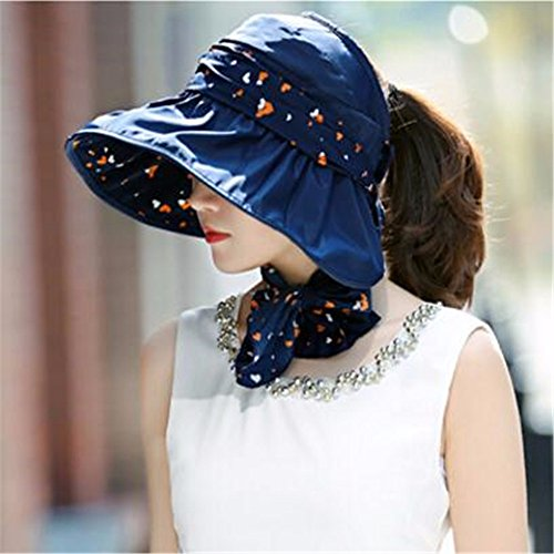 RangYR dames hoed zomer herfst breed gerande hoed zonnebrandcrème vouwfiets lege top cover