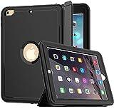 iPad 5th/6th Generation Case, iPad 9.7 Case 2017/2018, SEYMCY Heavy Duty Full Body