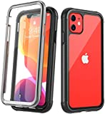 Temdan iPhone 11 Case, Full Body with Built-in Screen