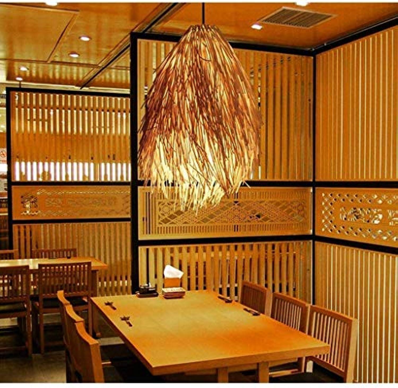 AN Home Hotel Beleuchtung Exquisite Kronleuchter, Südostasiatische Bambus Kunst Kronleuchter Zen Restaurant Kreative Japanischen Stil Teehaus Deckenleuchte E27