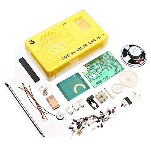 Lanrui Am FM SUNER Electronics Kit Electronic DIY Kit DE Aprendizaje