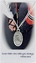 Boys St. Christopher Ice Hockey Medal with Prayer Card