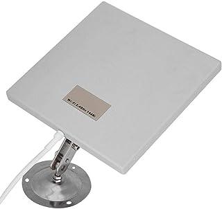 Diyeeni Panel Antena WiFi, Antena Exterior Panel 14 dBi Alta Ganancia WiFi Extensor Antena direccional de Red de Largo Alc...